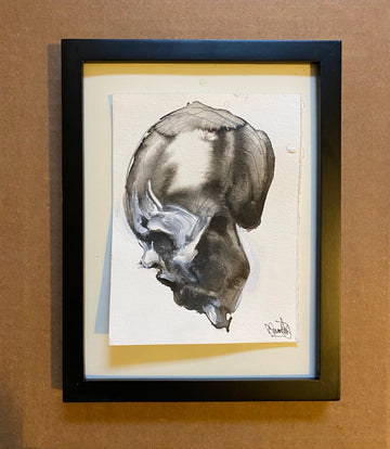 Small skull #1 ~ Original Painting