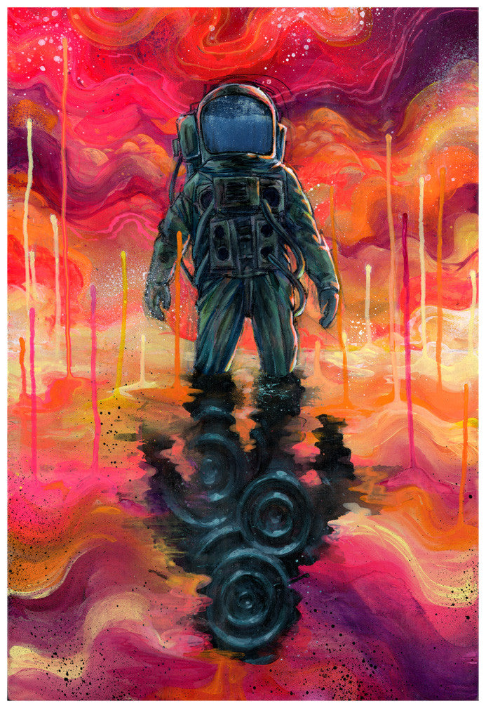 Spaceman Spliff - Giclee canvas reproduction