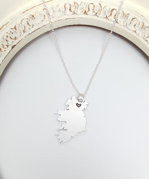 "Ireland ""Home"" Necklace"