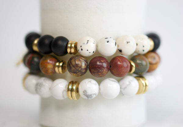 Stacking Bracelets - Georgia