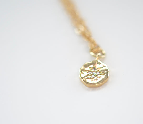 Northern Star Coin Necklace