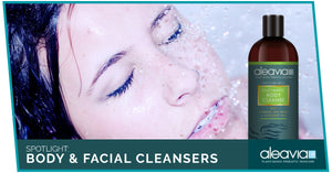 Spotlight: Body & Facial Cleansers By Aleavia