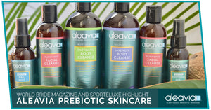 World Bride Magazine And Sporteluxe Highlight Aleavia Prebiotic Skin Care