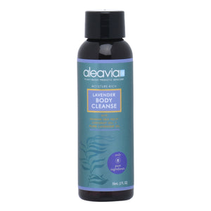 Aleavia Lavender Body Cleanse 2 oz Travel Size