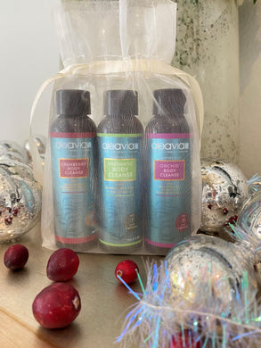 Holiday Travel Trio OUC (Orchid, Unscented, Cranberry)