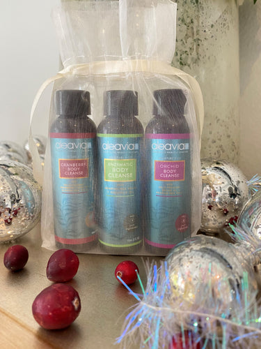 Travel Trio OUC (Orchid, Unscented, Cranberry)