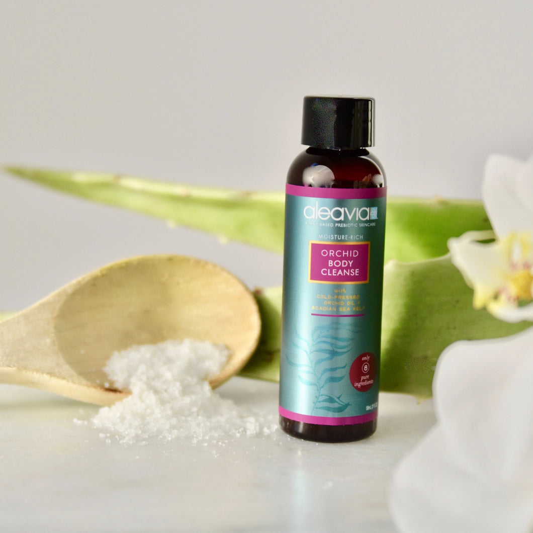 Orchid Body Cleanse - 2 oz Travel Size