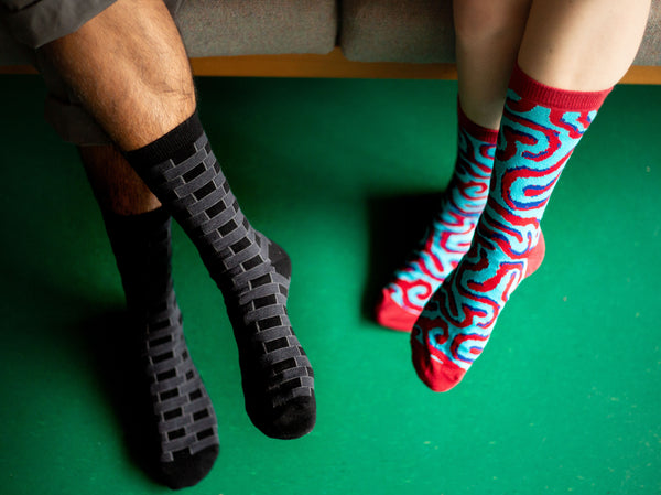 Architecture Socks: Flemish Bond