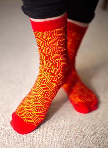 Architecture Socks: CAD Hatch