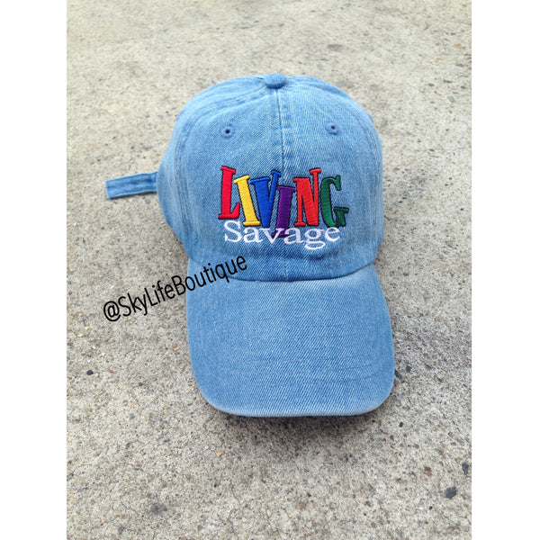 Living Savage Dad Cap