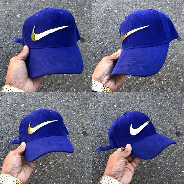 Royal Suede Strapback