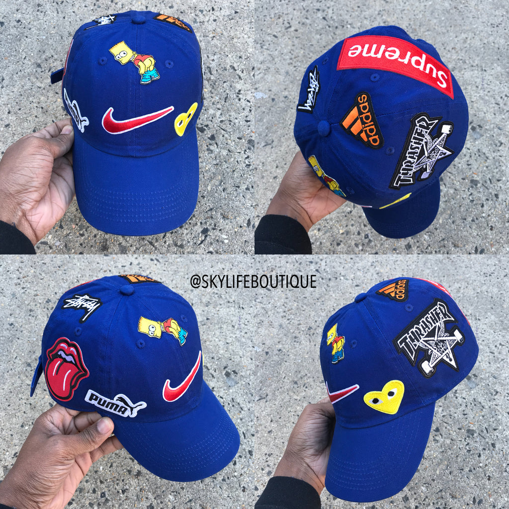 """What The Brand"" New Blue Dad Cap"