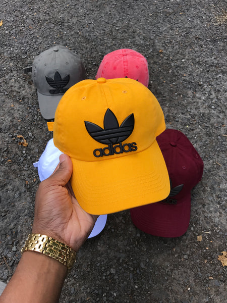 Sunflower Matte Tre-Foil Dad Cap