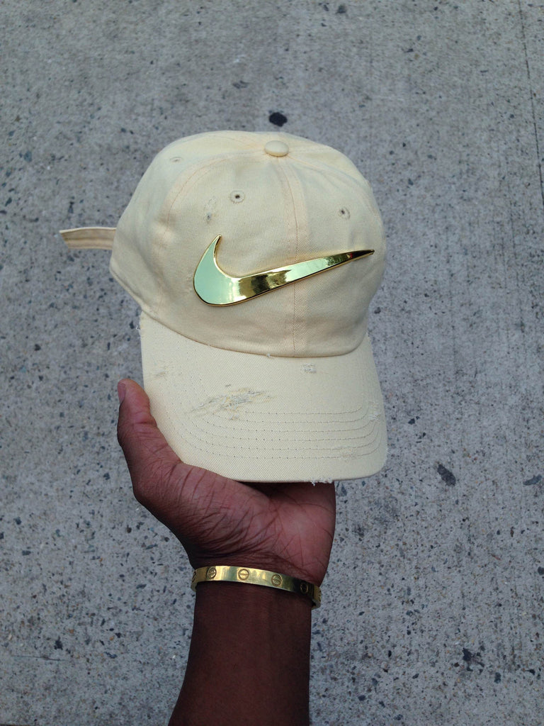 Daffodil Golden Check Dad Cap