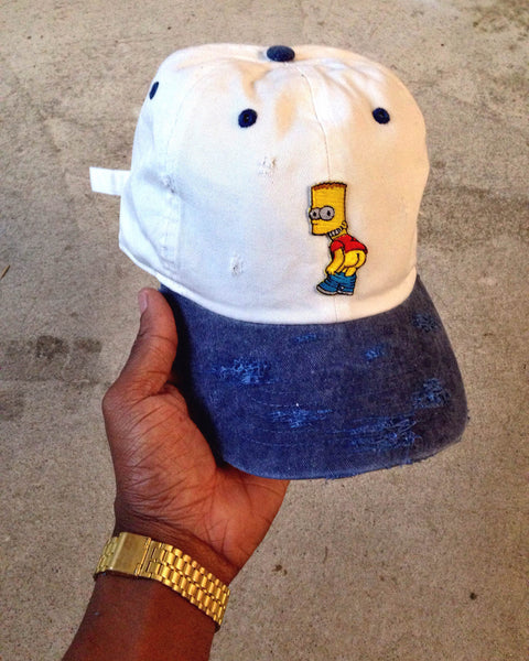 Bart Two -Tone Unapologetic Dad Caps