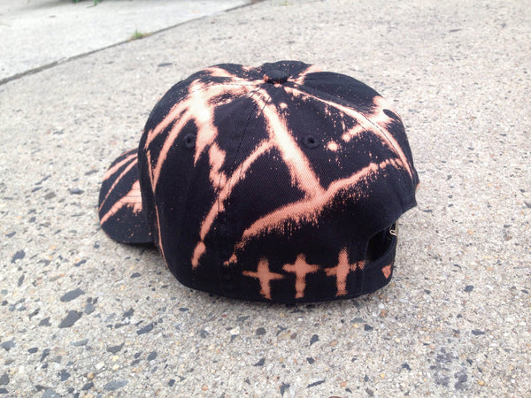 Metallic Bleached Dad Cap