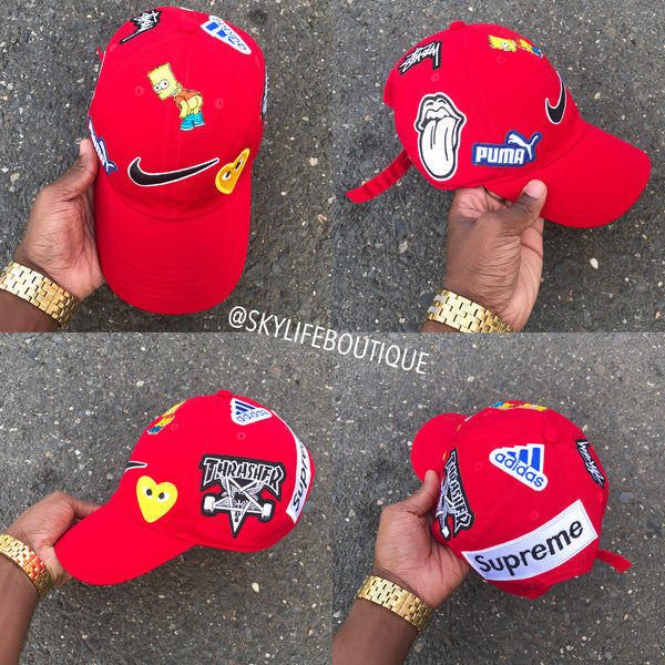 "Red Baron ""What The Brand"" Dad Cap"