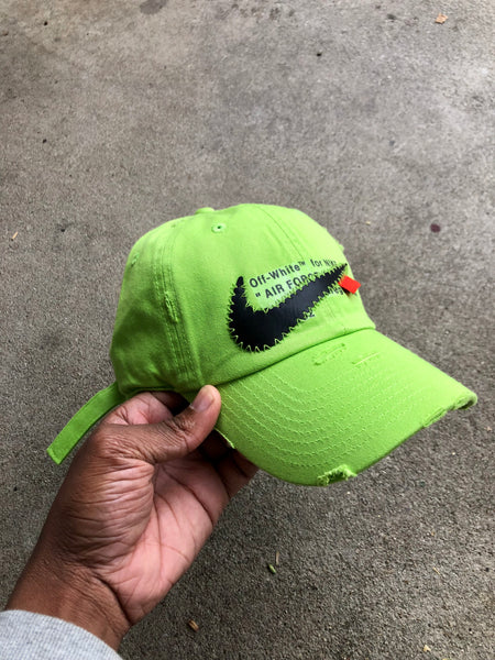 "OFF-White ""AIR FORCE 1"" VOLT DAD HAT - PRE ORDER"