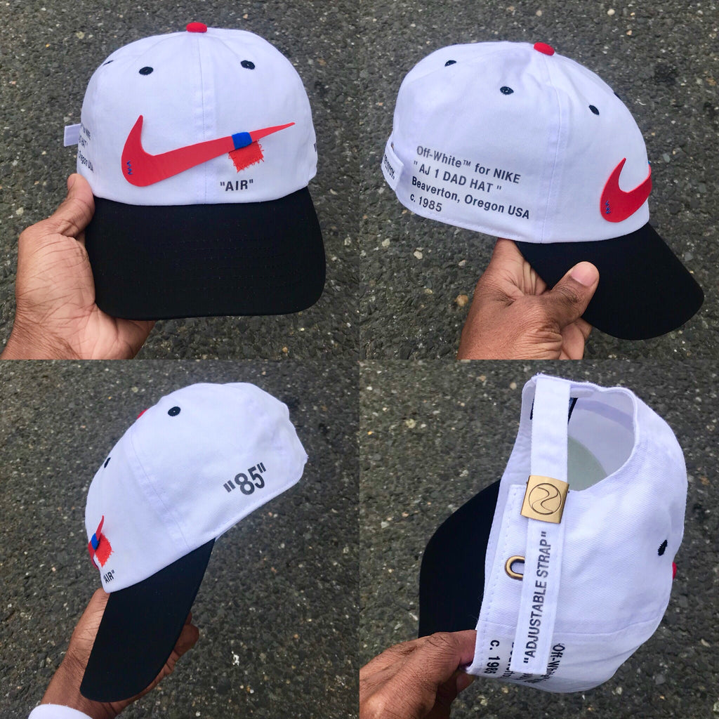 "OFF WHITE ""AJ 1 DAD HAT"" - CHICAGO REVERSE - PRE ORDER"