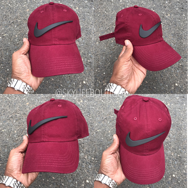 Wine Cap w/ Matte check