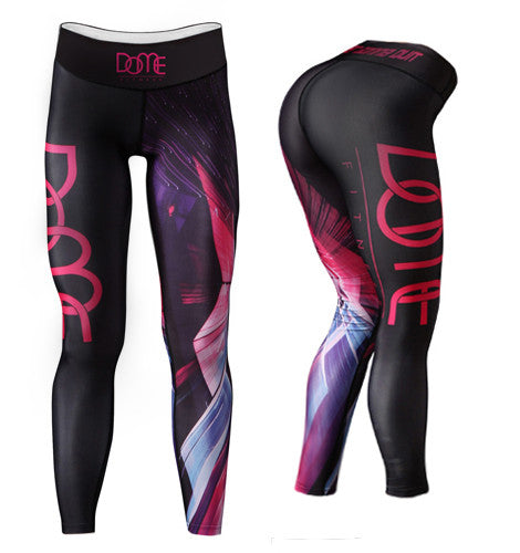 Tights | Spectra - Black / Pink