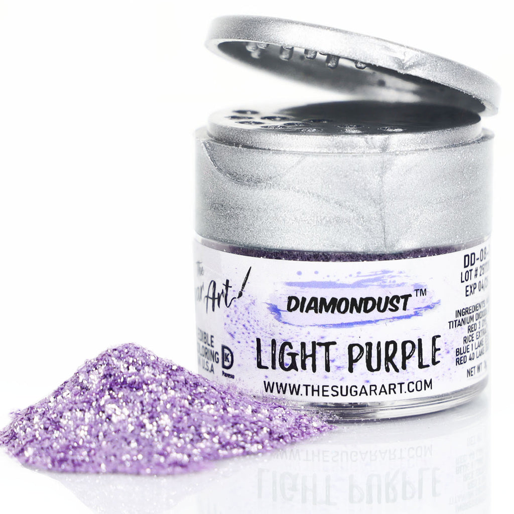 Light Purple Edible Glitter