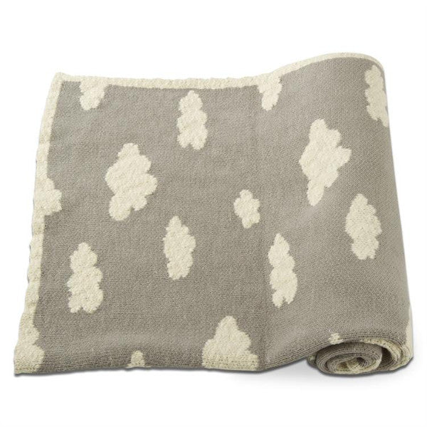 Gray Cloud Blanket