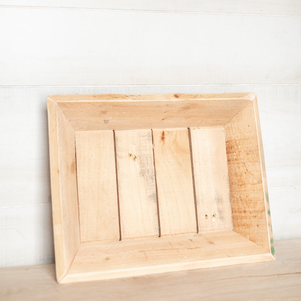 Wooden Natural Tray