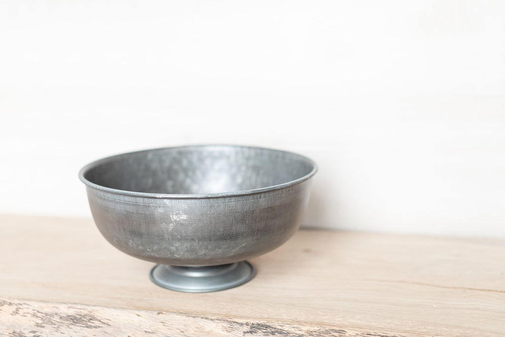 Metal Tazza Bowl