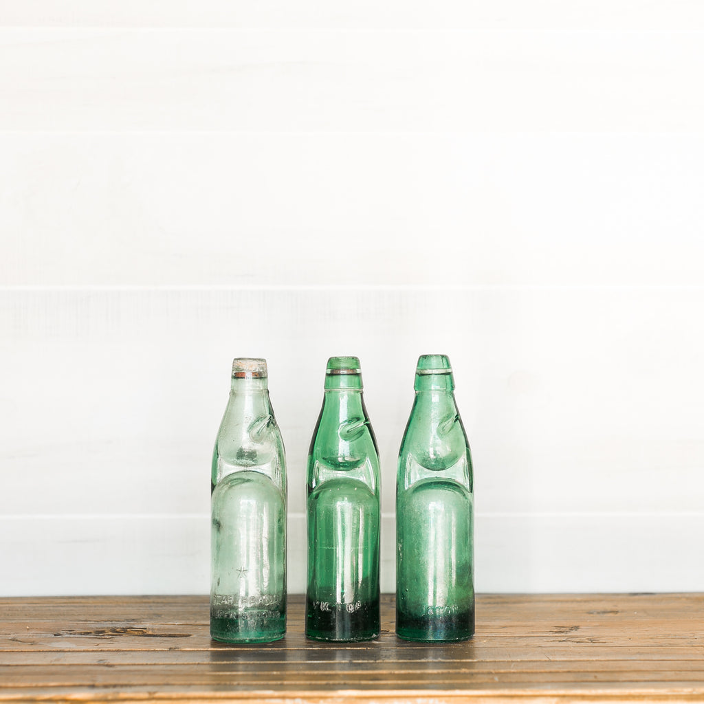Found Soda Bottles