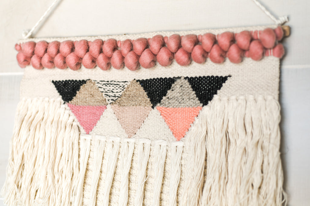 Wool & Cotton Woven Tapestry