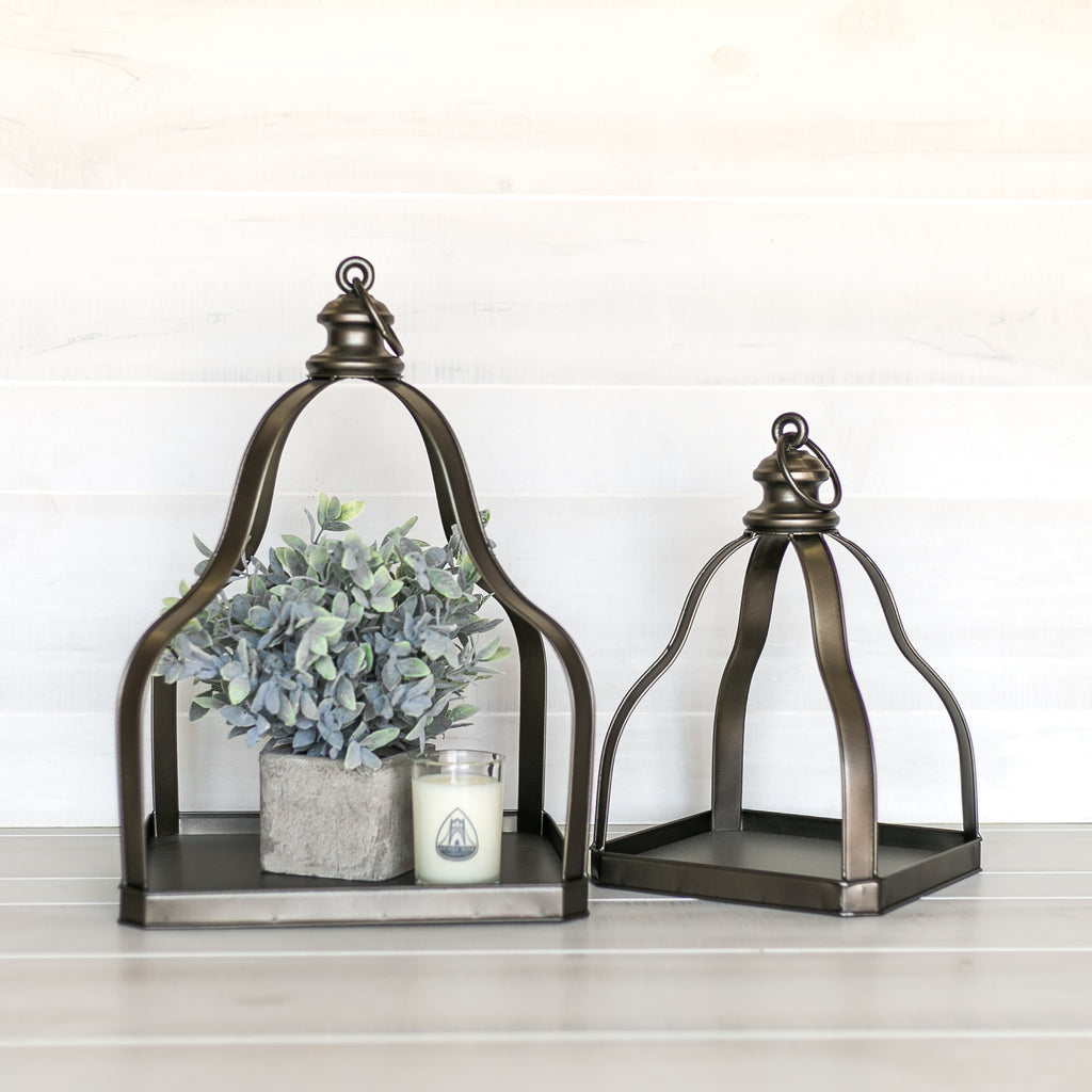 Metal Decorative Tray Set