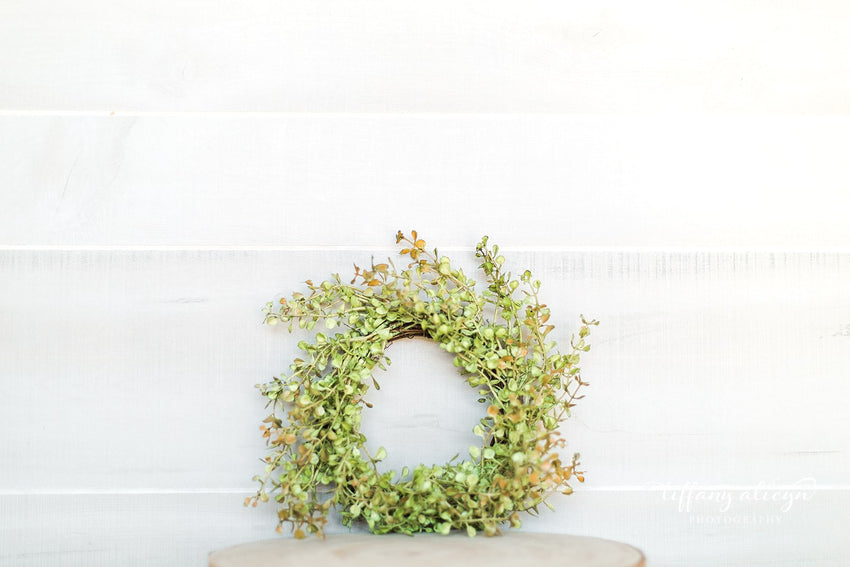 Baby Grass Floral Ring
