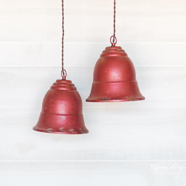 Farmhouse Red Bell Light