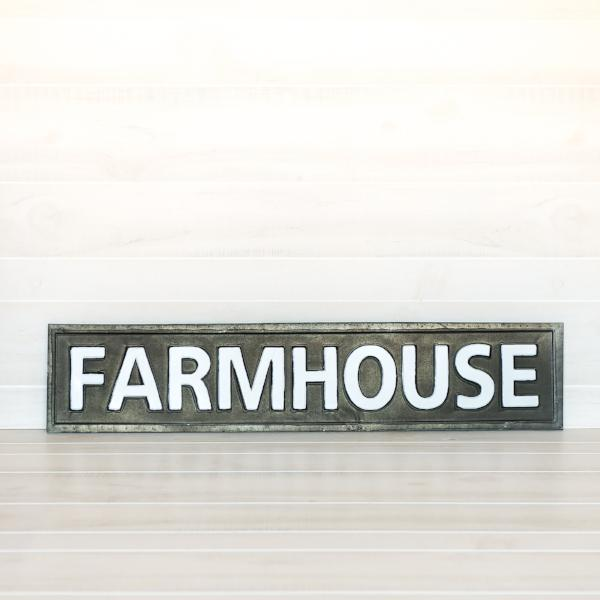 Black & White Farmhouse Sign