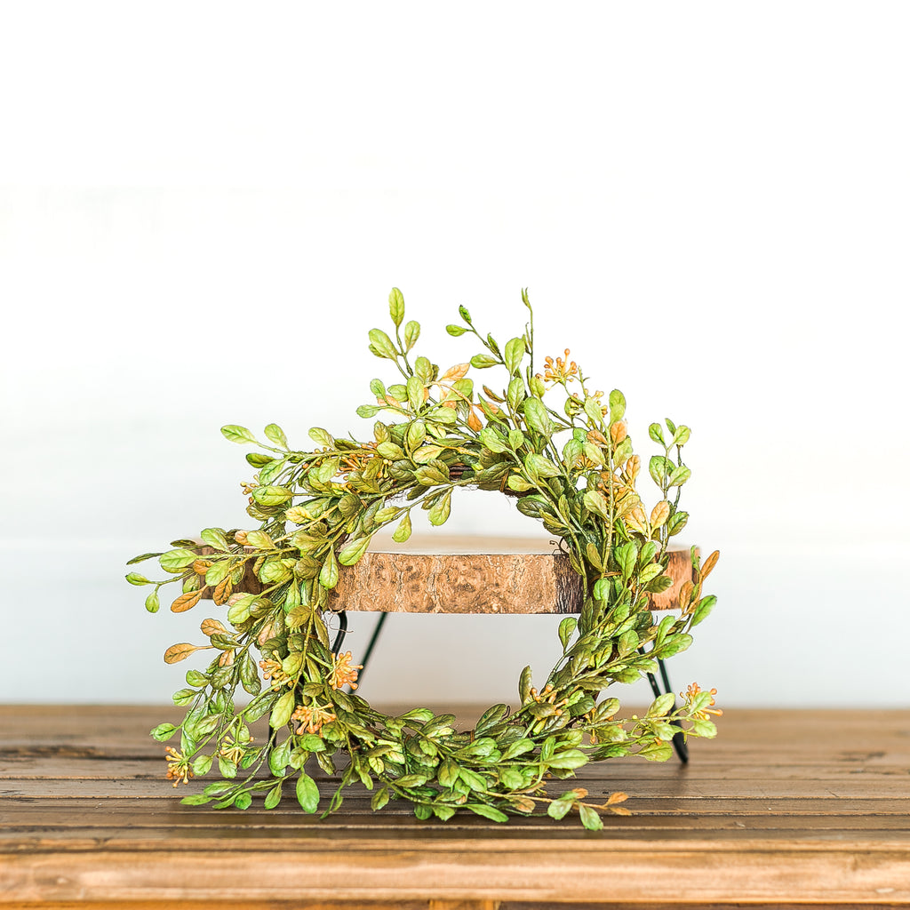 Boxwood Candle Ring