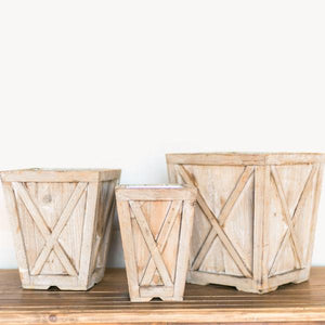 Hill Country Planters Set of 3