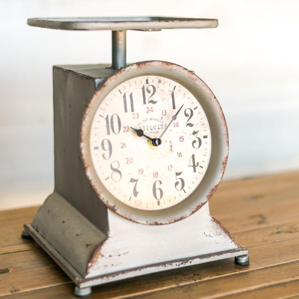 Little Grocery Scale Clock