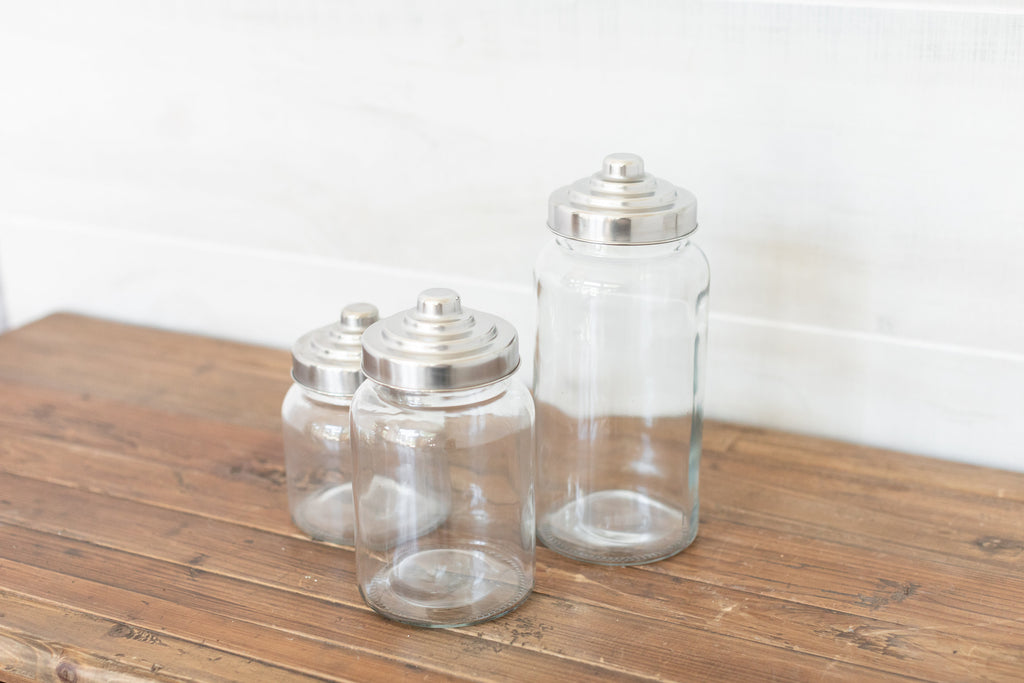 Mercantile Canister Set