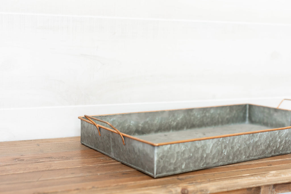 Copper Trim Tray