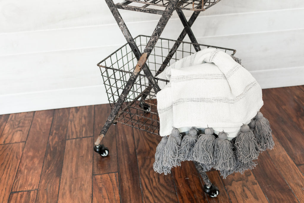 Double Rolling Cart
