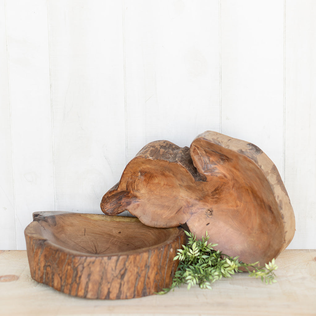Tree Stump Bowl