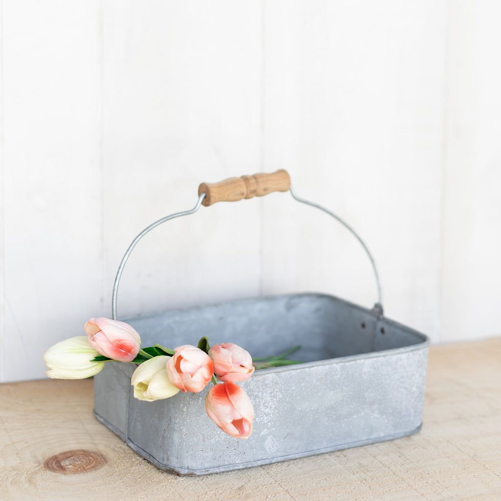 Galvanized Metal Tray