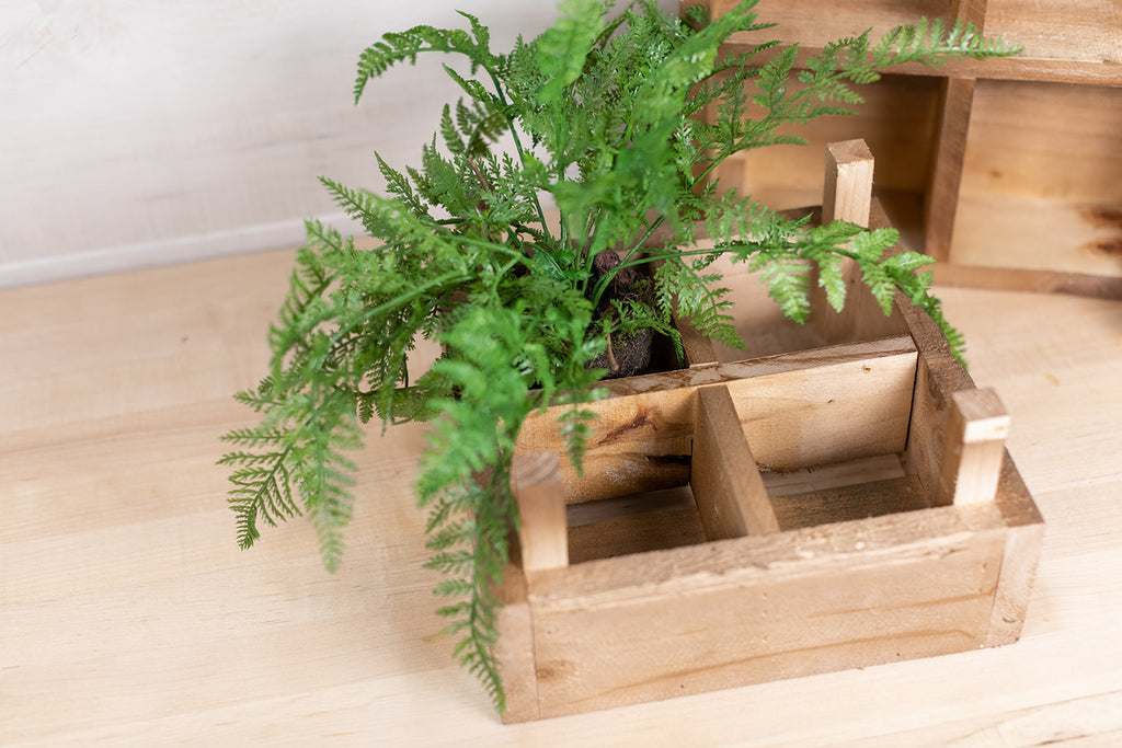 Wood Crate Planter