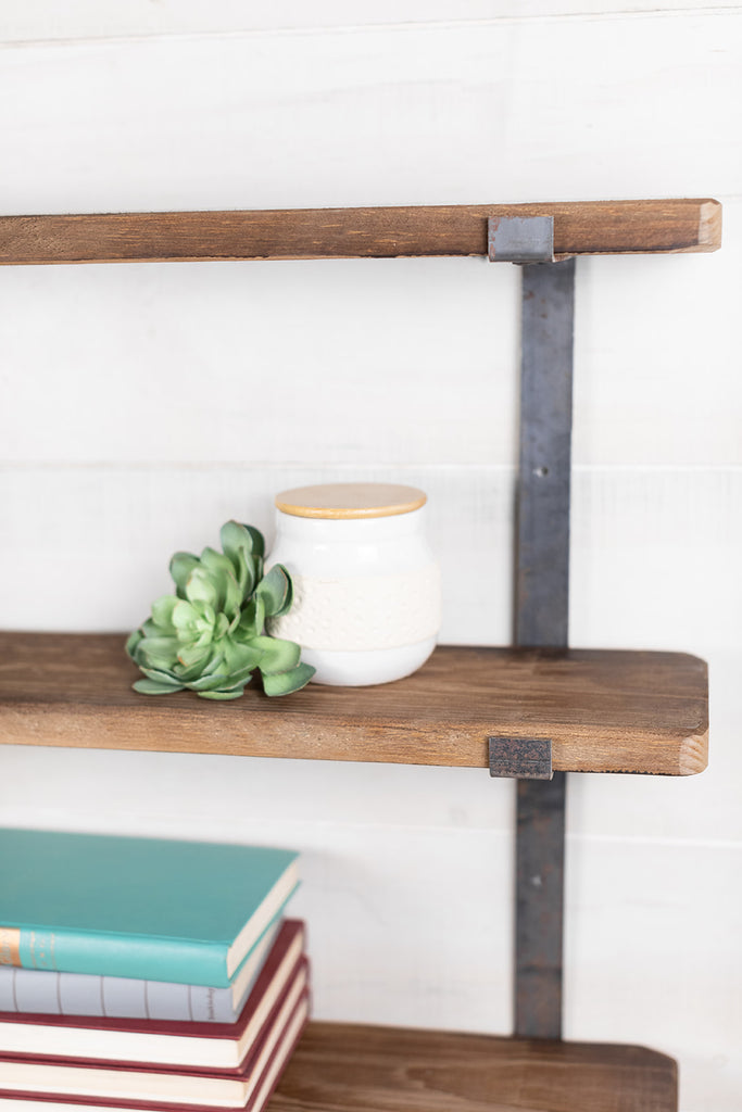 Triple Wall Shelf