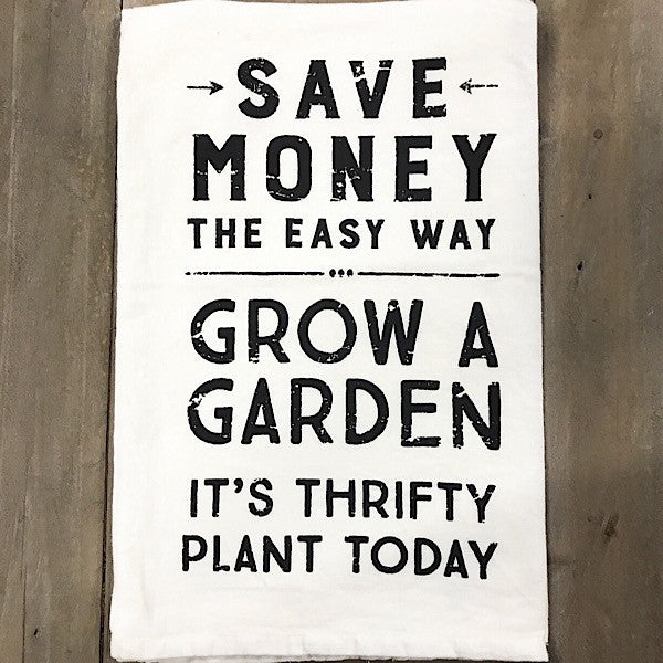 Save Money Grow A Garden