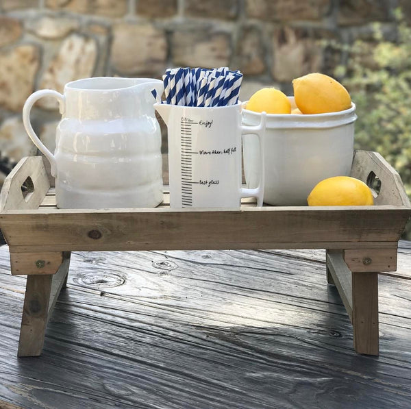 Farmhouse Breakfast Tray