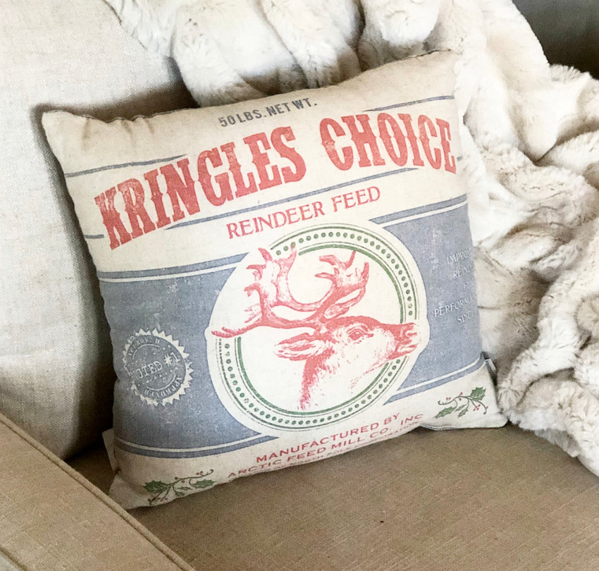 Christmas Pillow - Kringles Choice