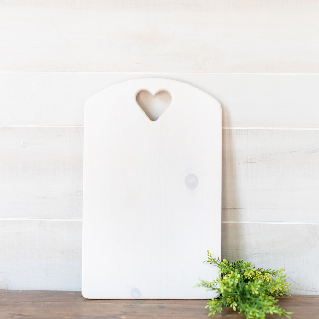 Cutting Board with Heart