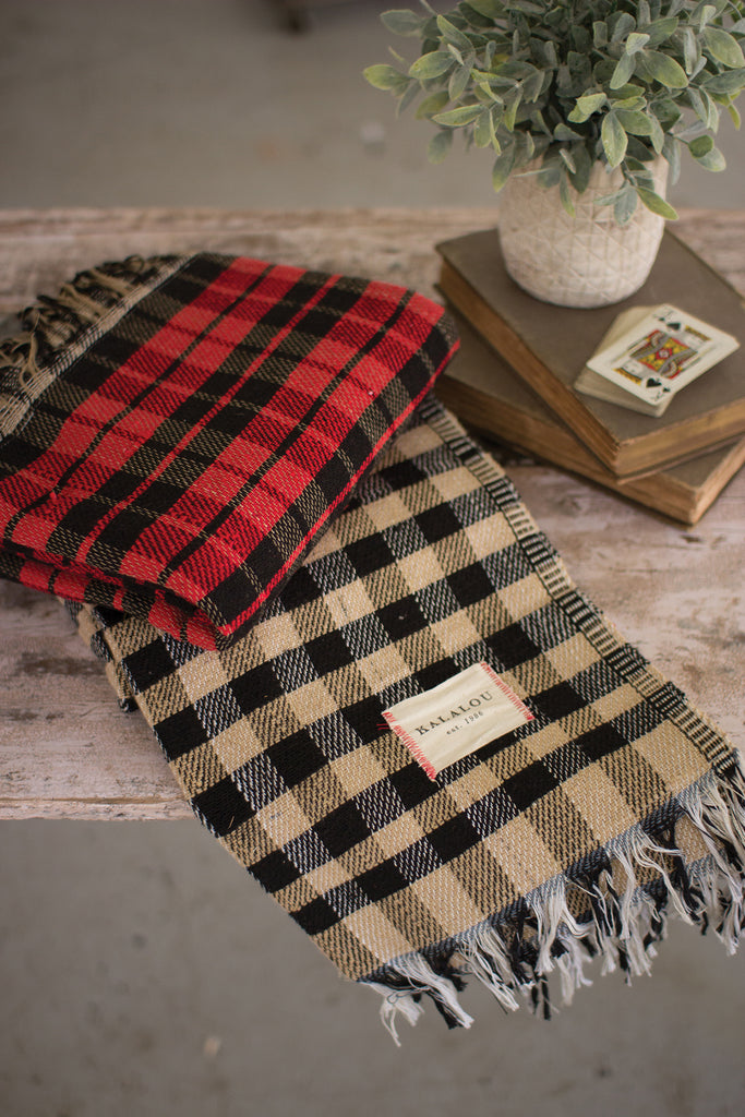 Plaid Table Cloth